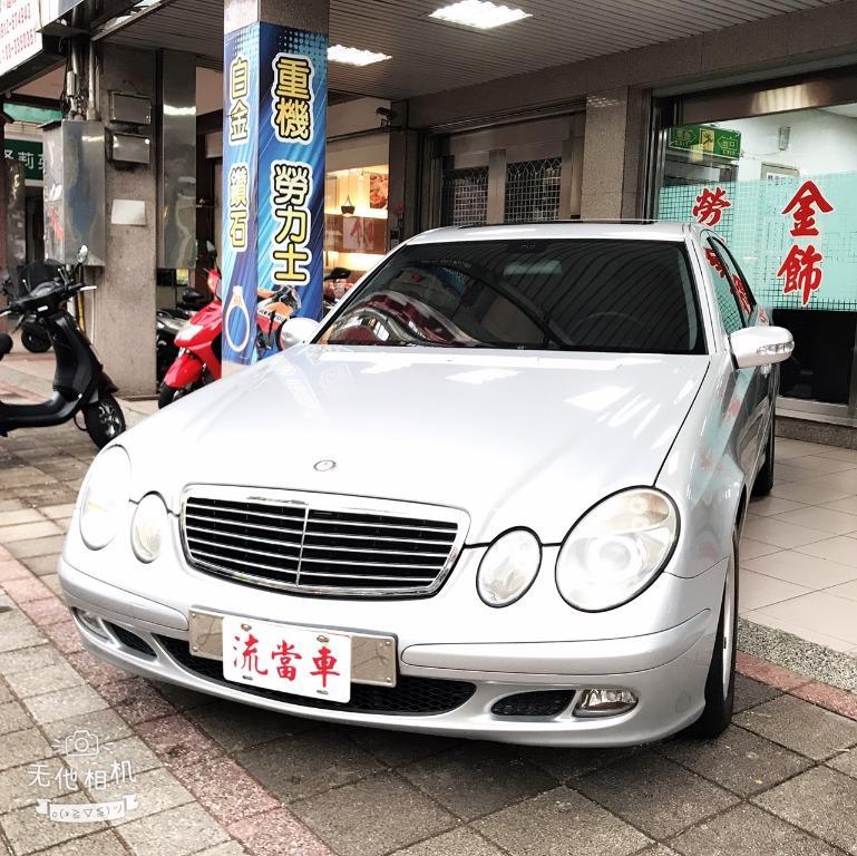桃園長榮當舖【汽車 流當精品】賓士-E200K 1.8 2006 流當汽車