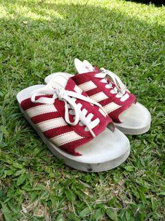 Adidas Vintage Gazelle Beach Slip On Clog Shoes Sandal vtg, Men's ...