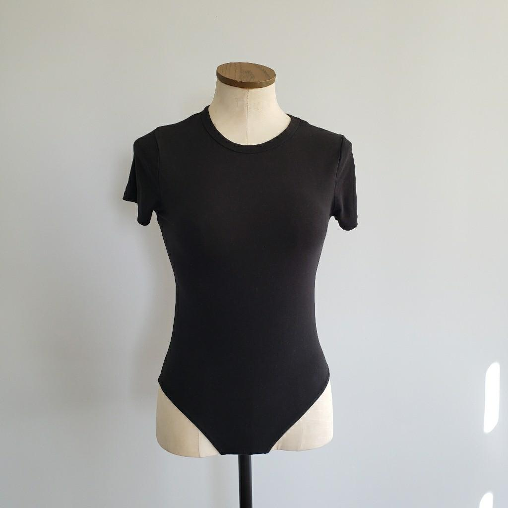 Black T-Shirt Bodysuit
