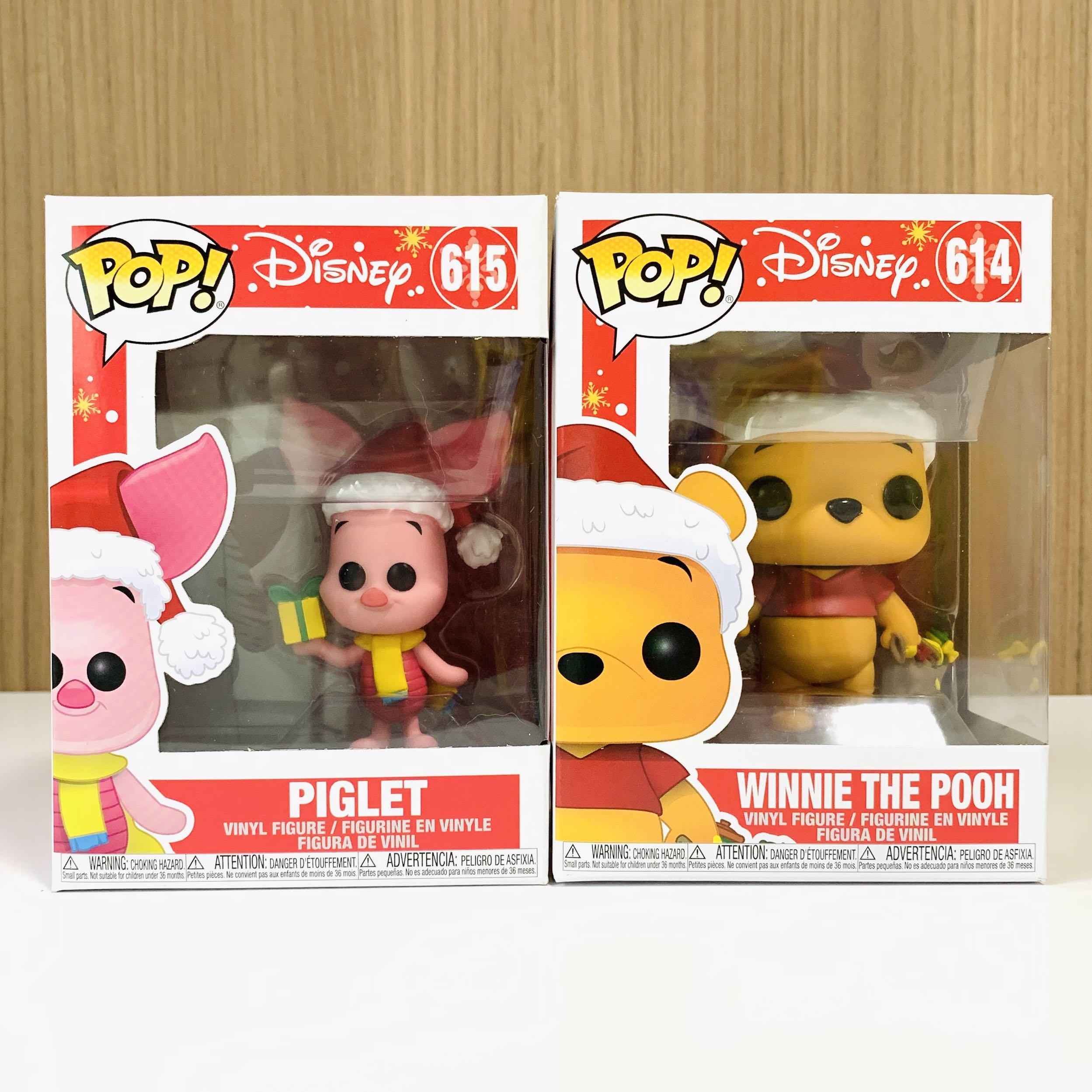 Disney Holiday Winnie The Pooh Vinyl Figur Funko Pop! Piglet 615