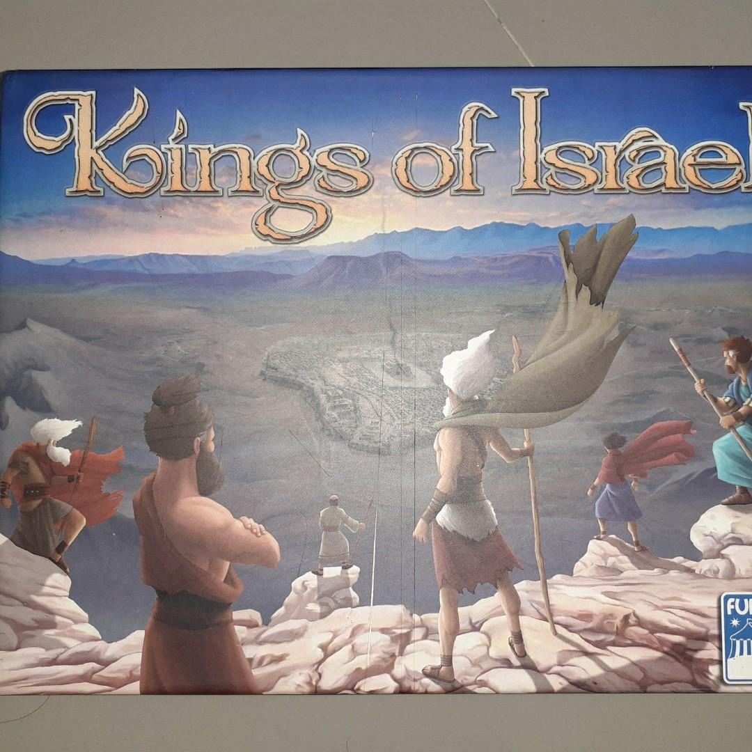 Boardgame Kings Of Israel