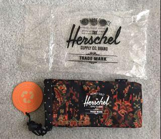 Brand new with tag Hershel sunglasses pouch / case / bag