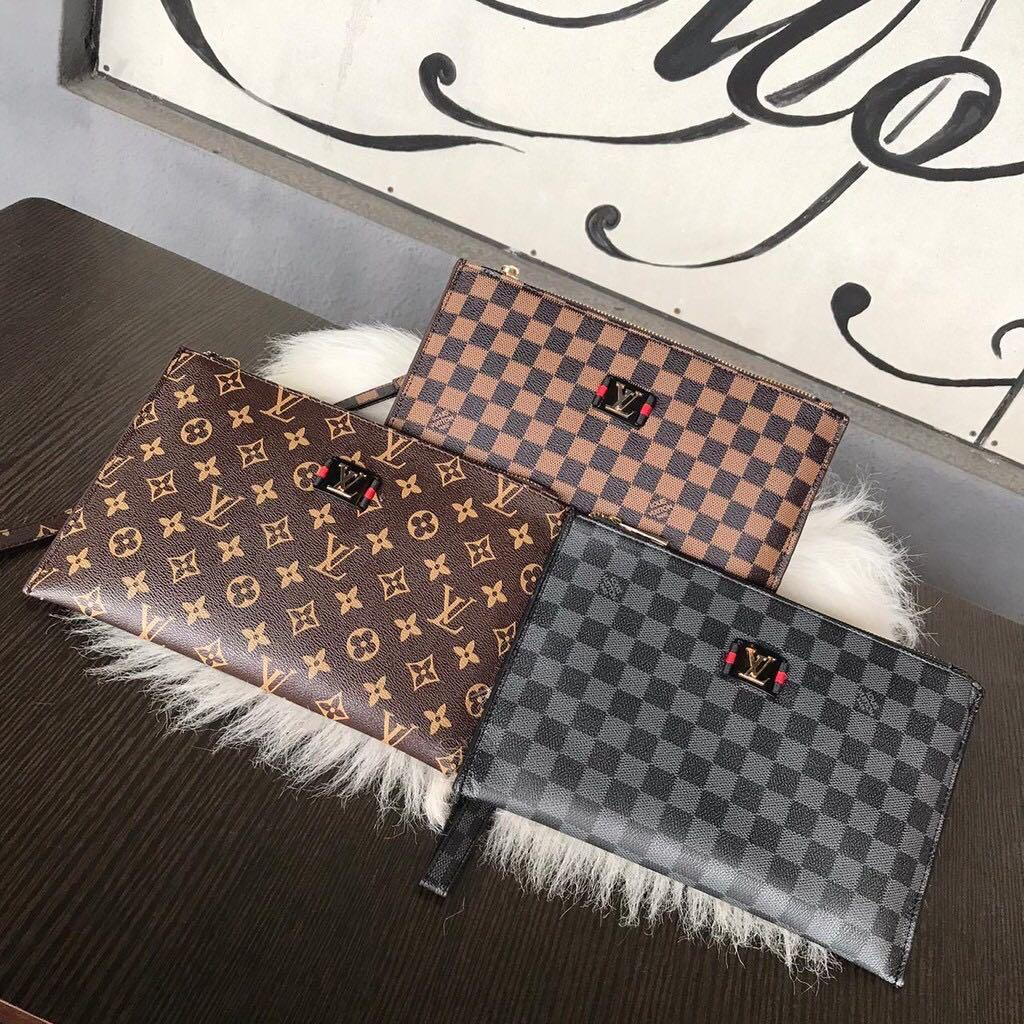 Branded lv pouch