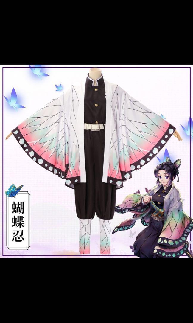 鬼滅之刃蝴蝶忍cosplay(M碼)