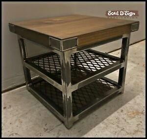 [DEEPAVALI SALES] Coffee Table Set Industrial Style Living Room Iron Pumpkin Table Trendy Ins Home D