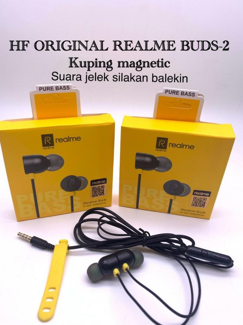 Earphone Realme original 100%
