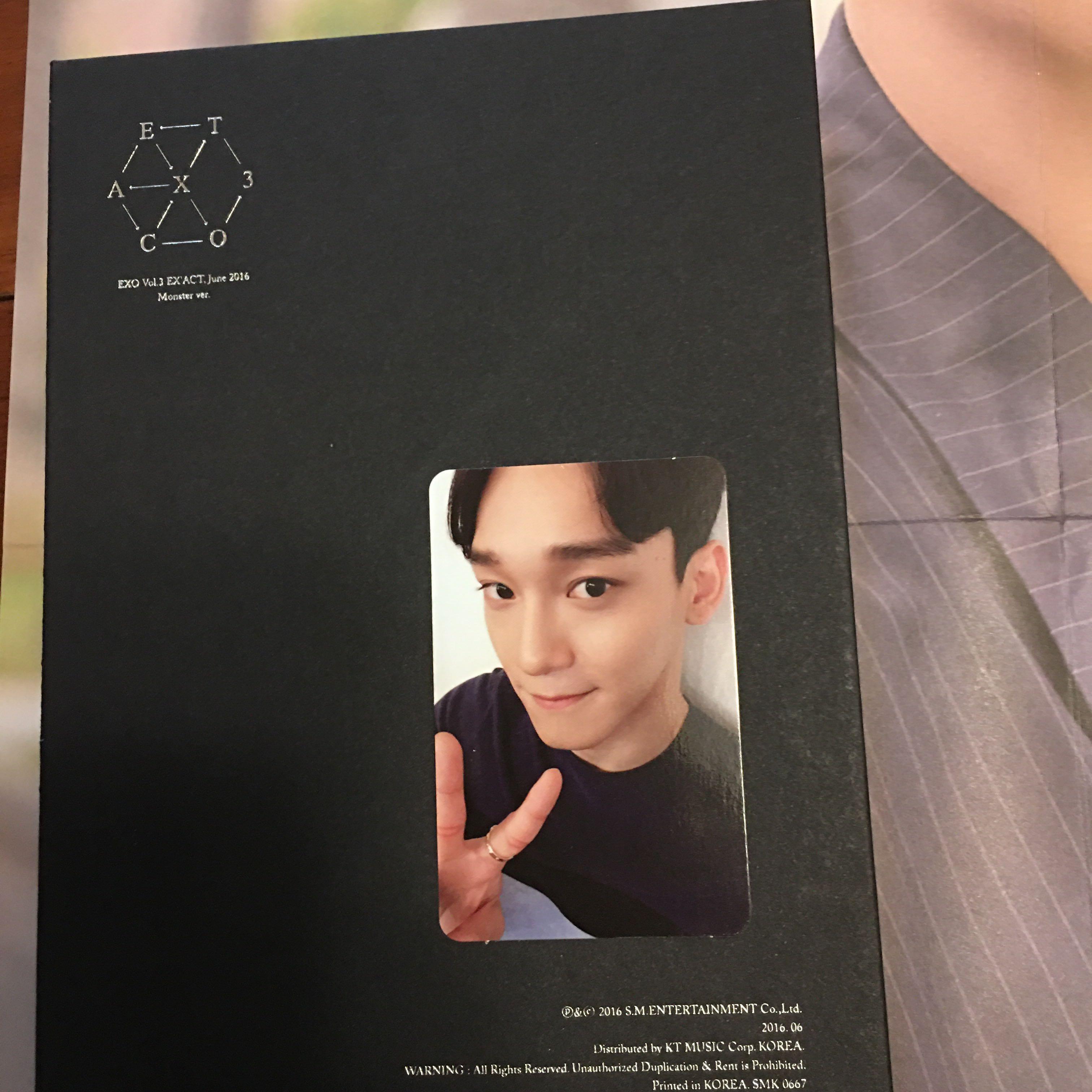 EXO Monster專輯含卡