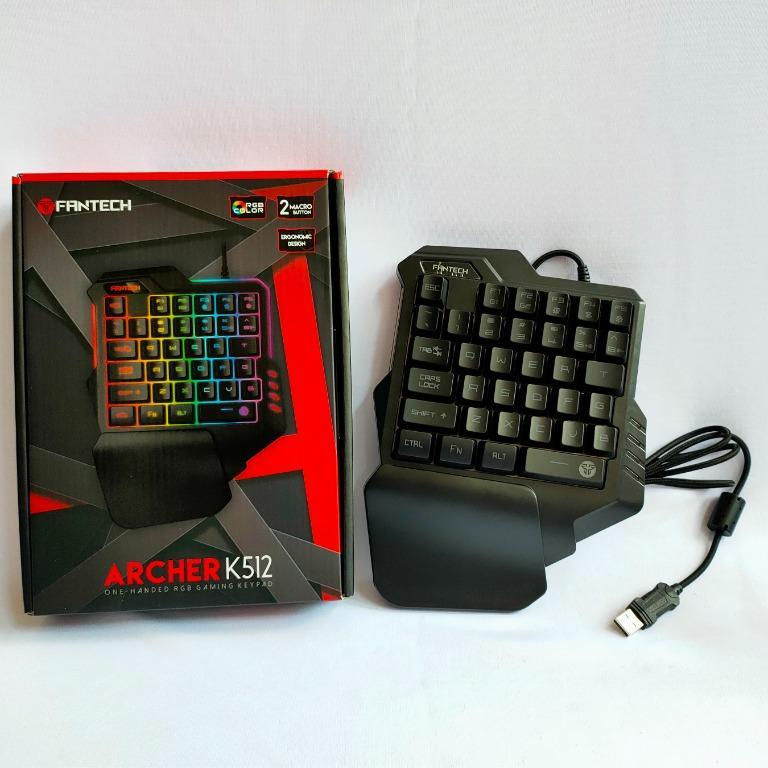 Fantech Archer One Handed Keyboard K512