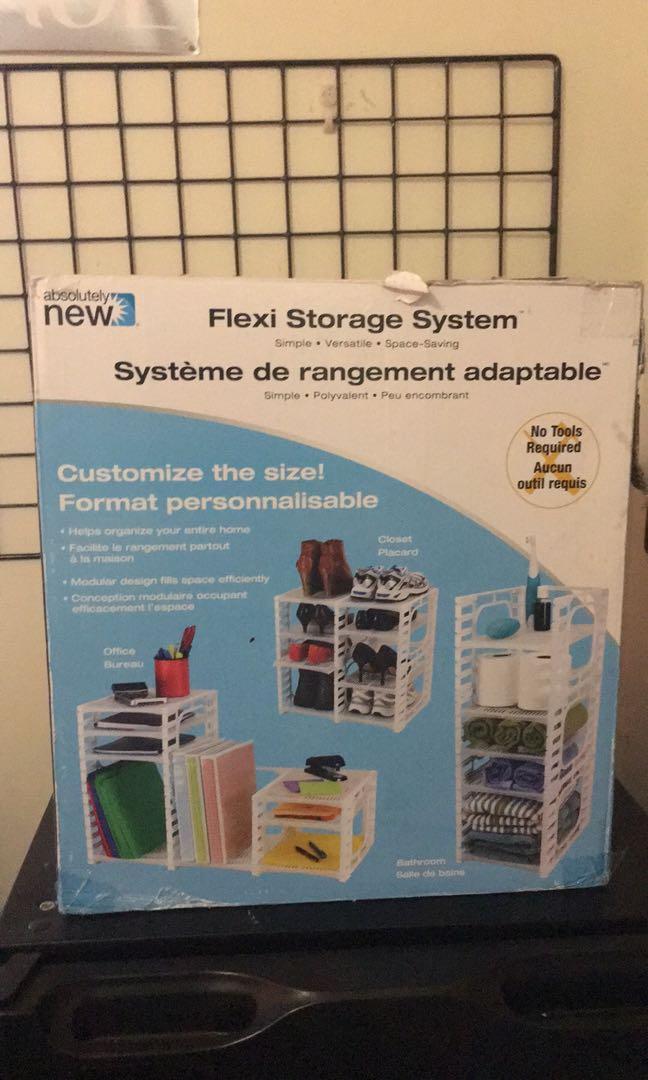 Flexible Storage Shelf