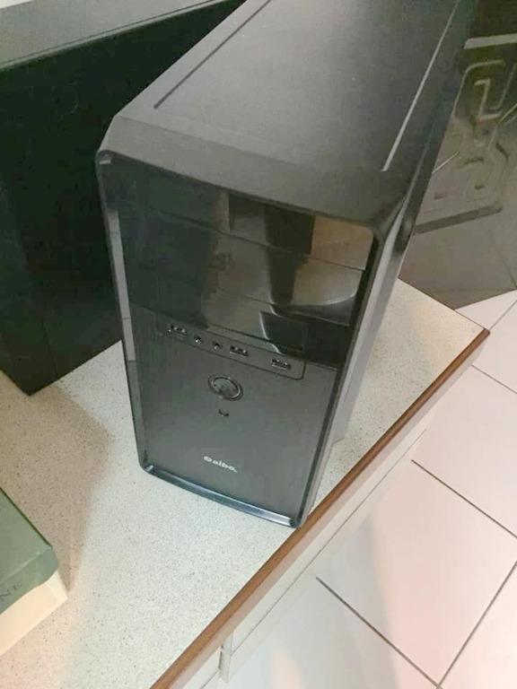 I5 電腦主機 16G記憶體 獨顯 GTX 750Ti 950 1050 RX460 + 雙SSD 全新機殼