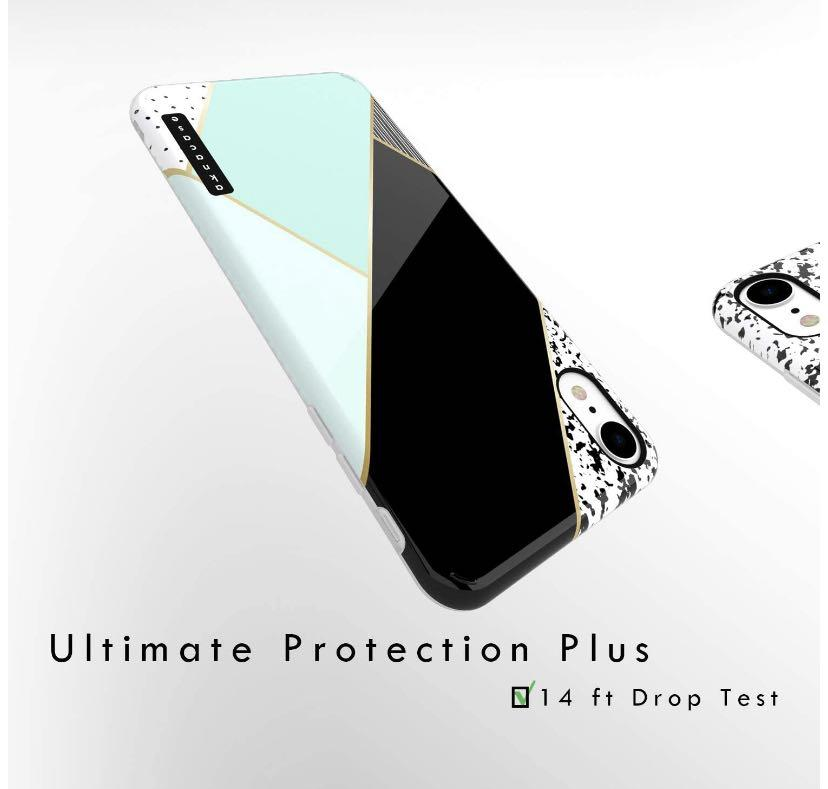 iPhone XR Mixed Coloured High Impact Silicone Case