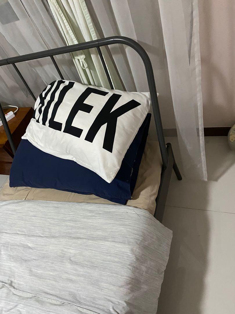 Kopardal Ikea Bed Fram And Mattress Furniture Beds Mattresses On Carousell