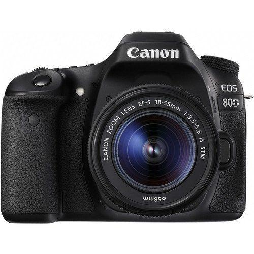 Kredit Canon EOS 80D Wi-Fi DSLR Camera with 18-55mm