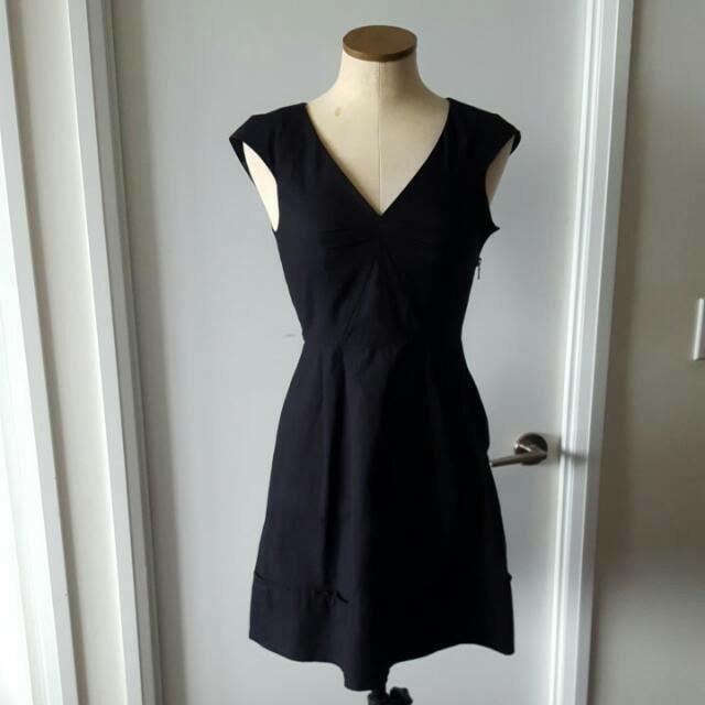 Marc Jacobs Black A Line Dress