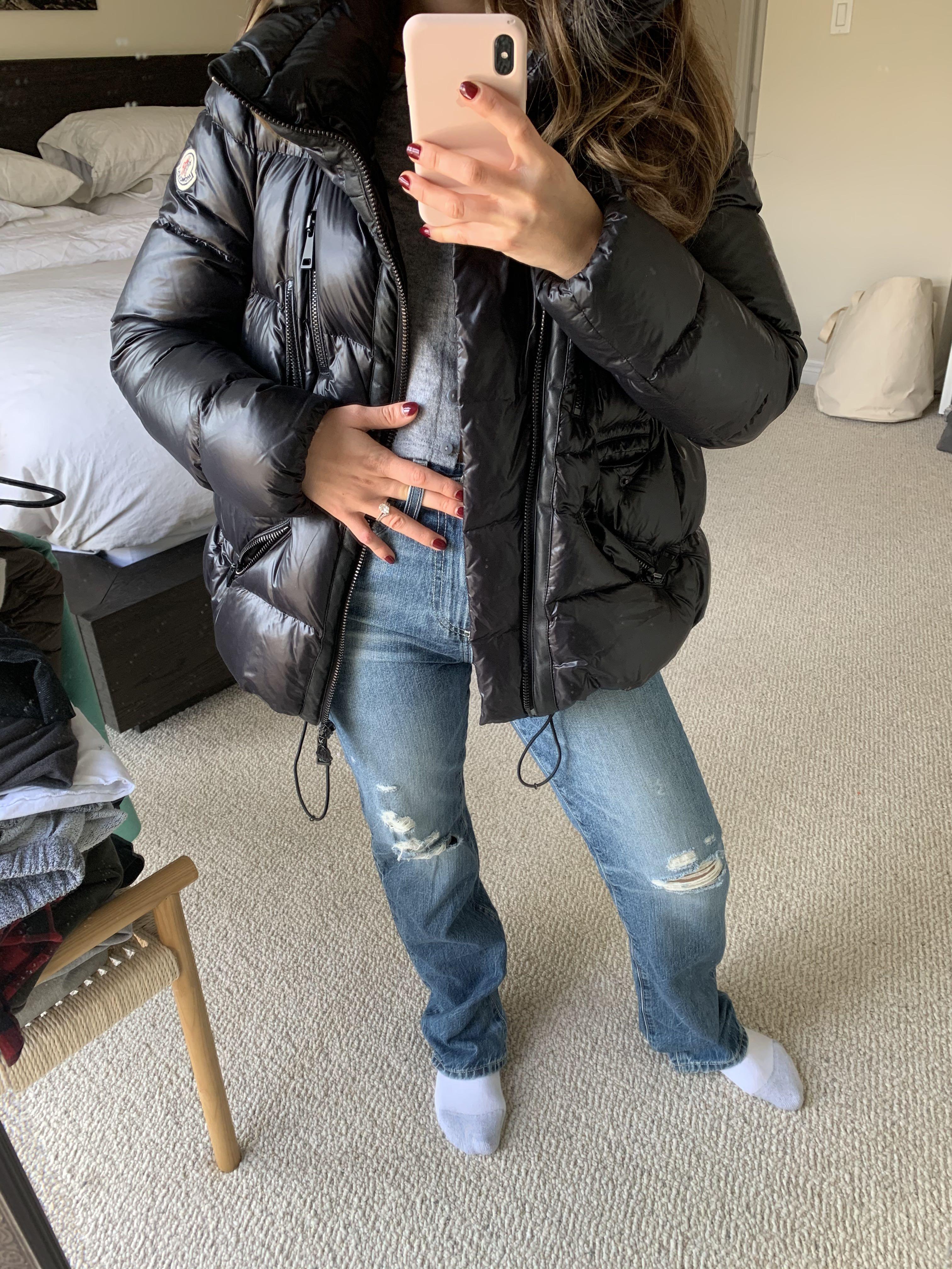 Moncler Puffer Jacket Size 1
