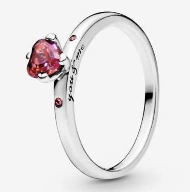 "Pandora ""you&me"" Valentine's Day ring"