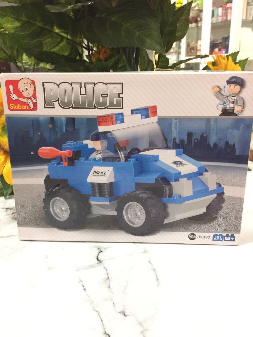 Puzzle sluban police