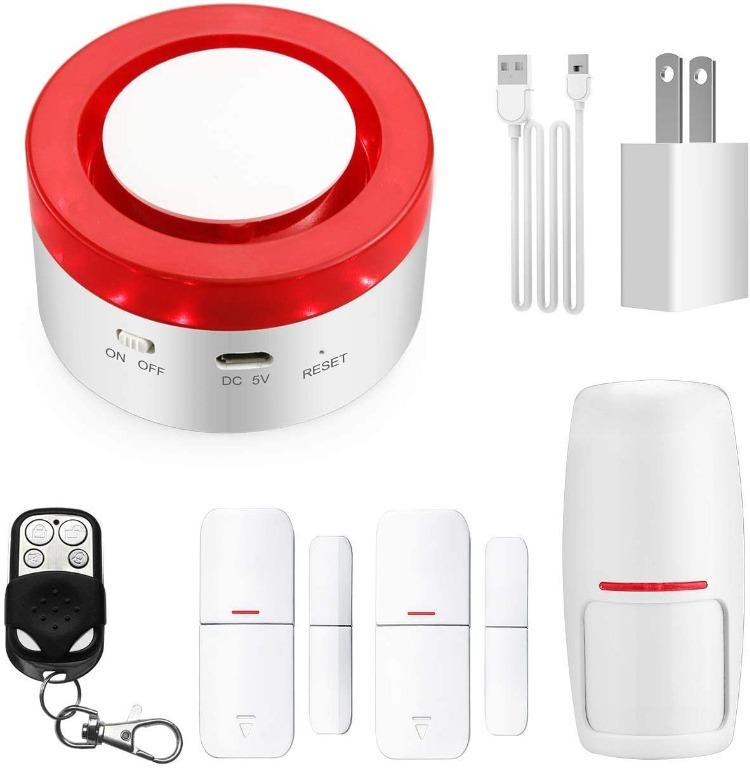 Smart Home Security Alarm Siren System Compatible with Alexa and Google