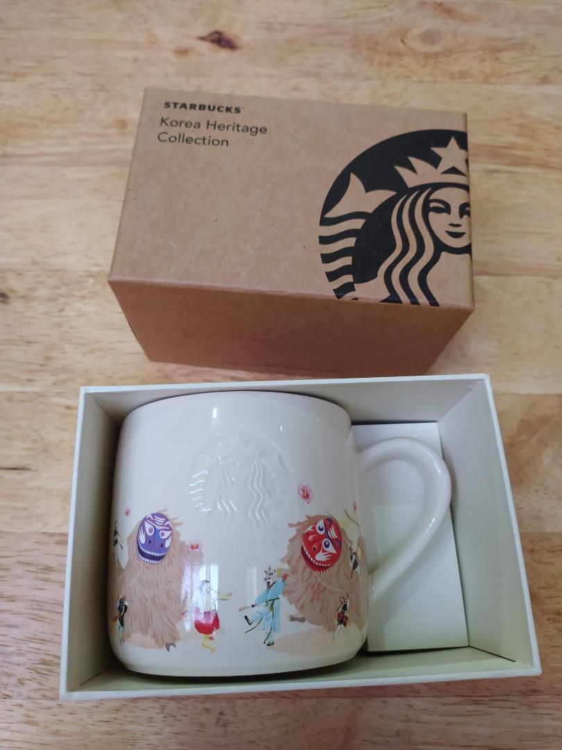 Starbucks Mug Korea Heritage Edition