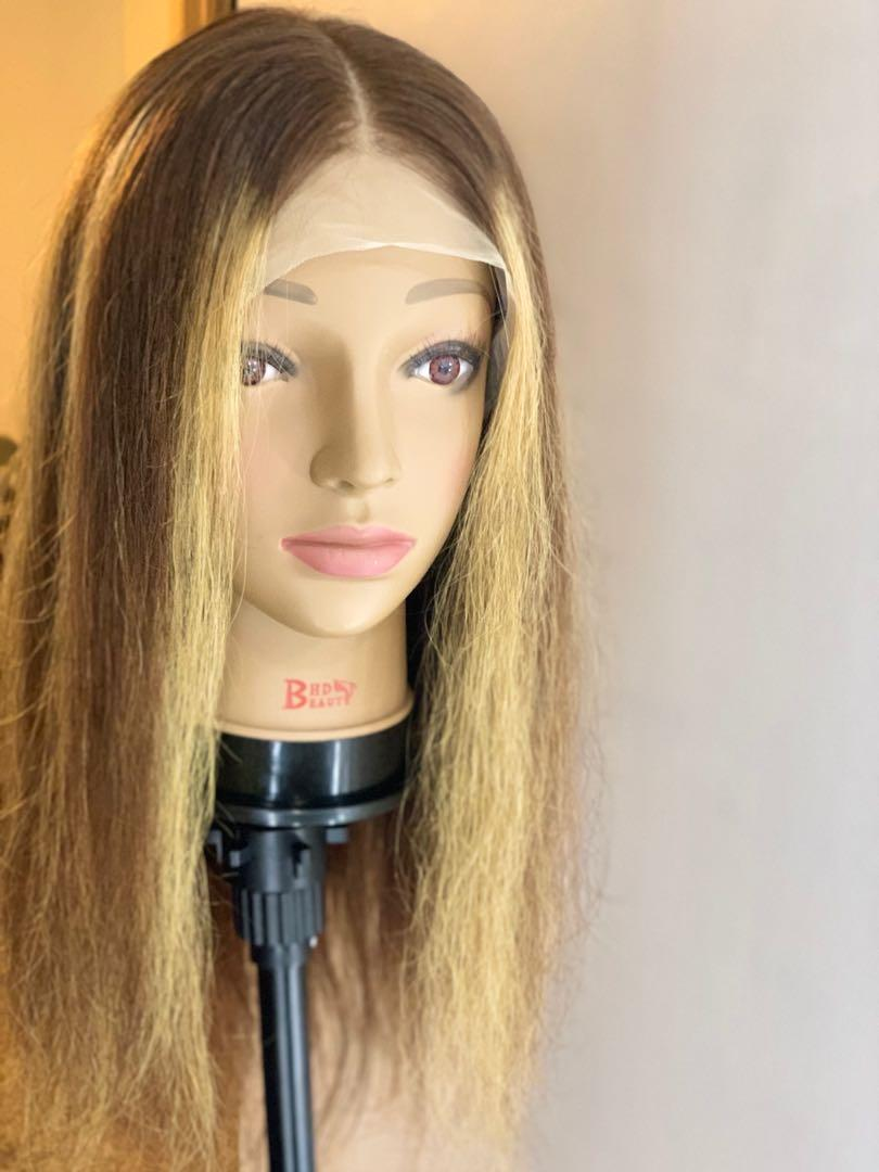 Straight Ombré Lace Front Wig 20inch