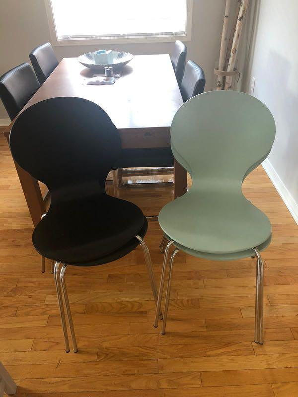 Structube dining room/office chairs