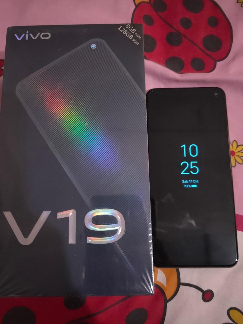 Vivo V19 8/128 fullset mulus like new