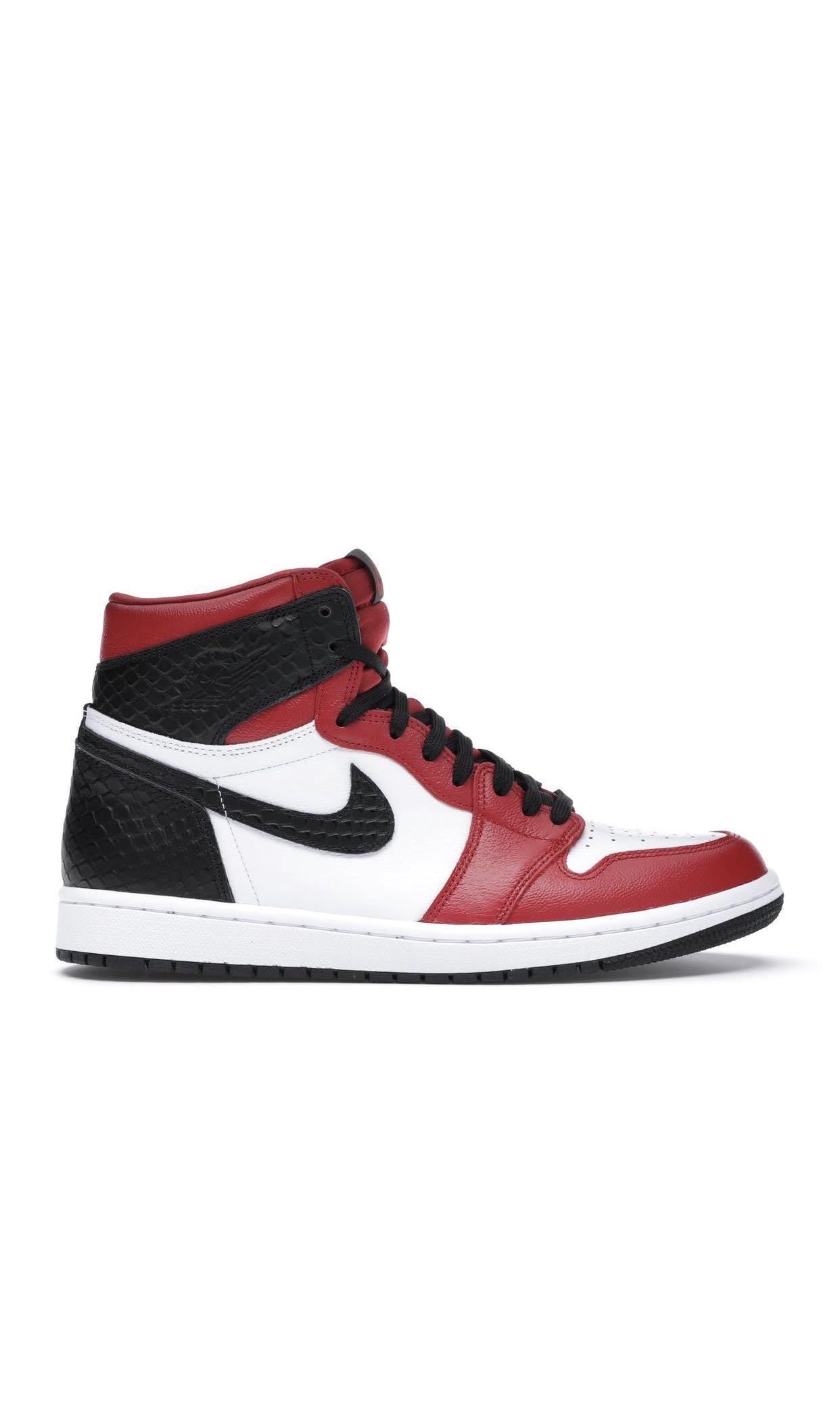 Women's Nike Jordan 1 Snakeskin Chicago