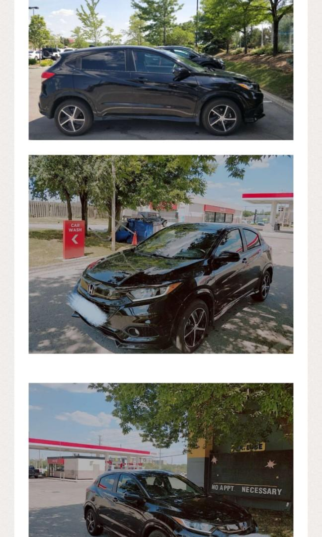 2019 Honda HRV  (Transfer car lease)