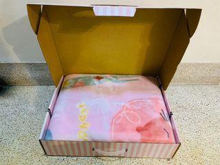 彌月禮盒 毛毯禮盒 女寶寶 可含運