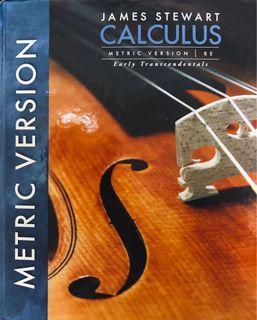 微積分 Calculus eight edition 8th /james stewart 大一 原文書