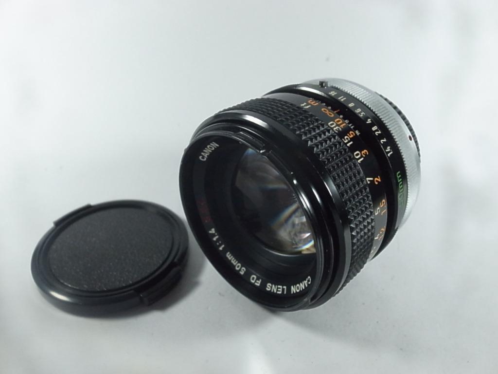 [一直攝] Canon FD 50mm F1.4 S.S.C 鏡頭