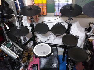羅蘭 TD-9K 電子鼓 ROLAND 非TD-4KP TD-1KPX2 E-A7 電子琴PM-10 喇叭