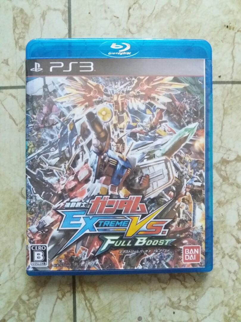 BD Kaset PS3 Mobile Suit Gundam Extreme VS Full Boost R2 Jepang (BHS JEPANG)