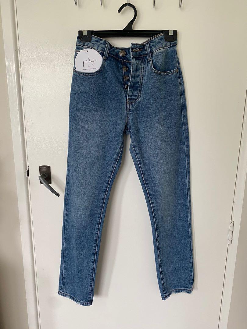 Princess Polly Blue Denim Jeans