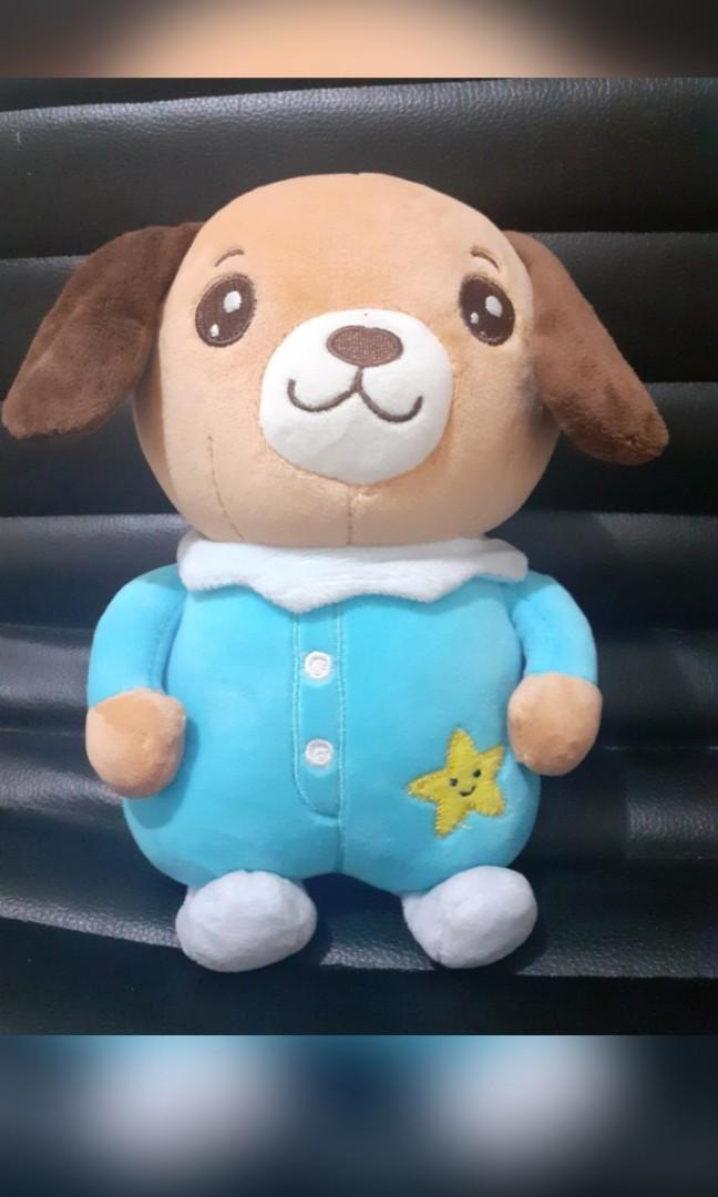 Boneka Dog Bahan Miniso (gantungan kaca)
