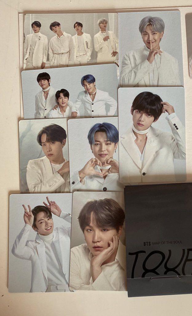 BTS MOTS tour photocard set