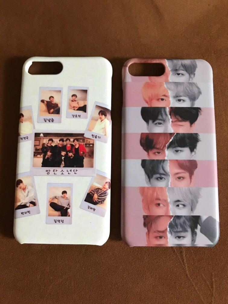 BTS Softcase / casing iphone 7+/8+
