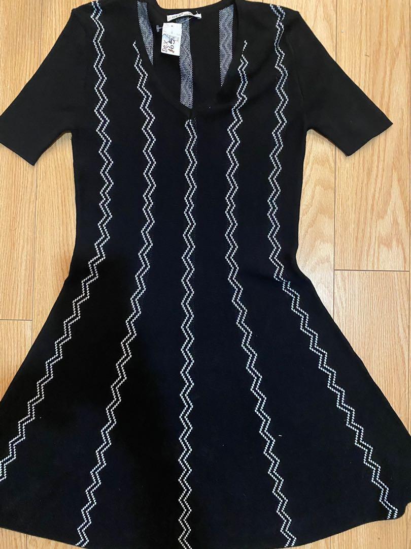 Dex black dress size m