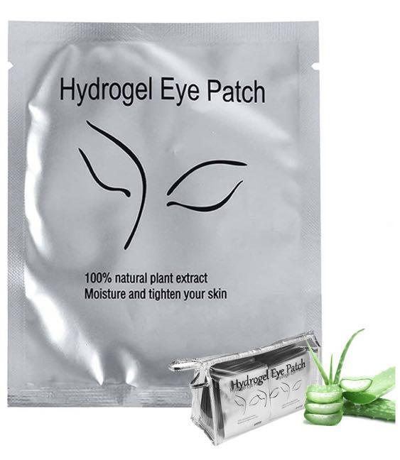 Eyelash extension under eye pad