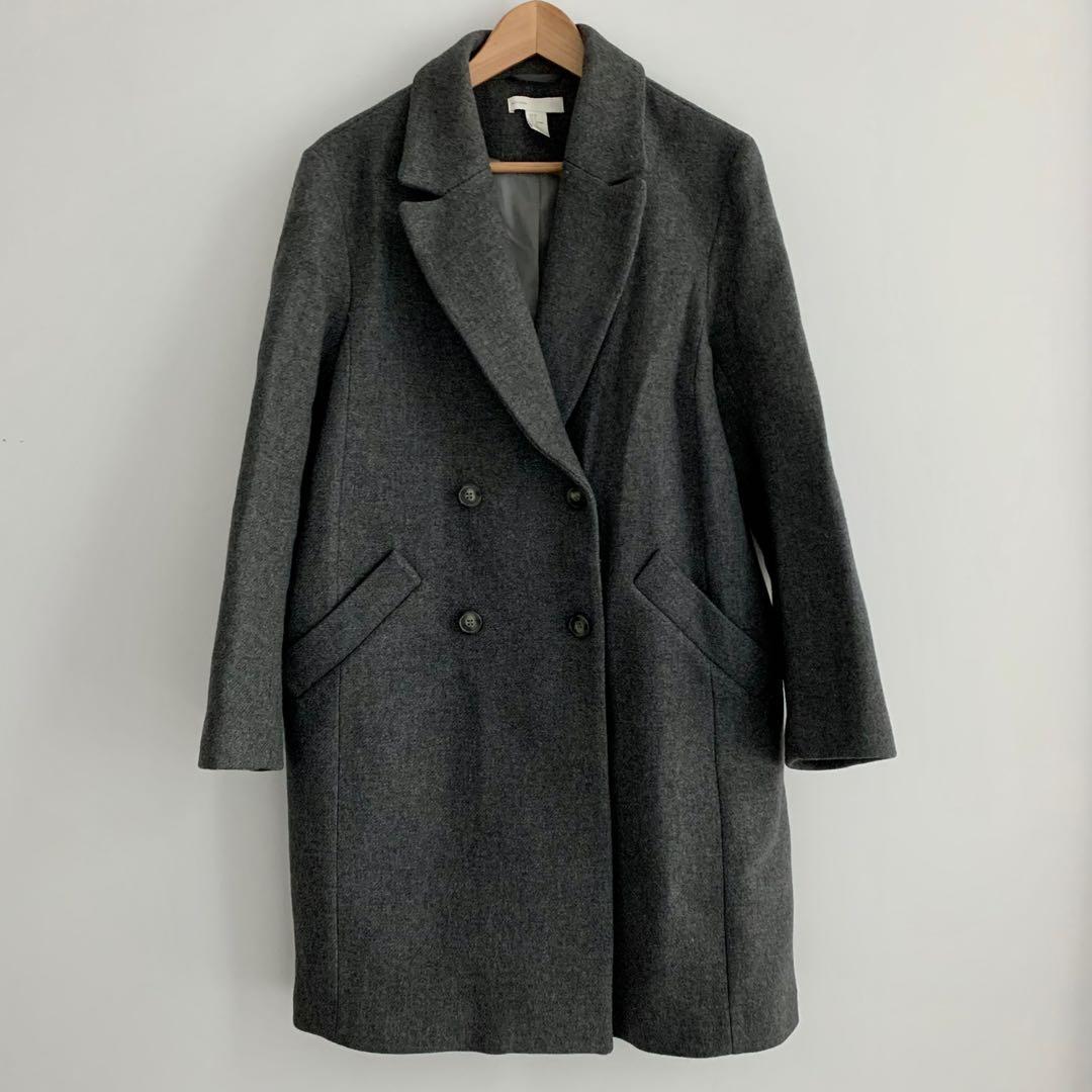 H&M Dark Grey Coat