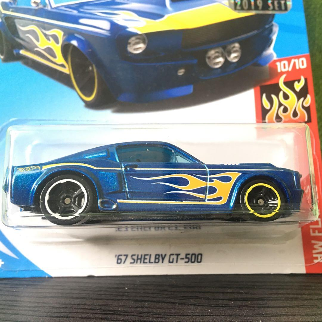 Hot Wheels '67 Shelby GT500 Factory Sealed 2019 fs