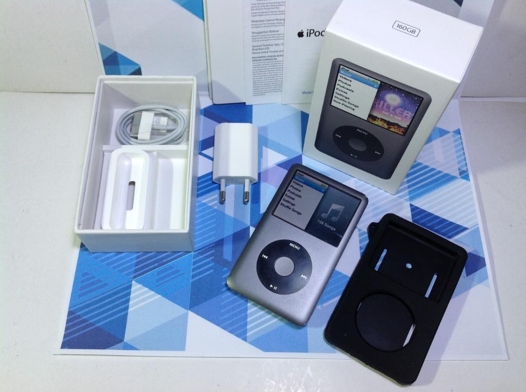 ipod classic 7th gen 160gb space grey full set box