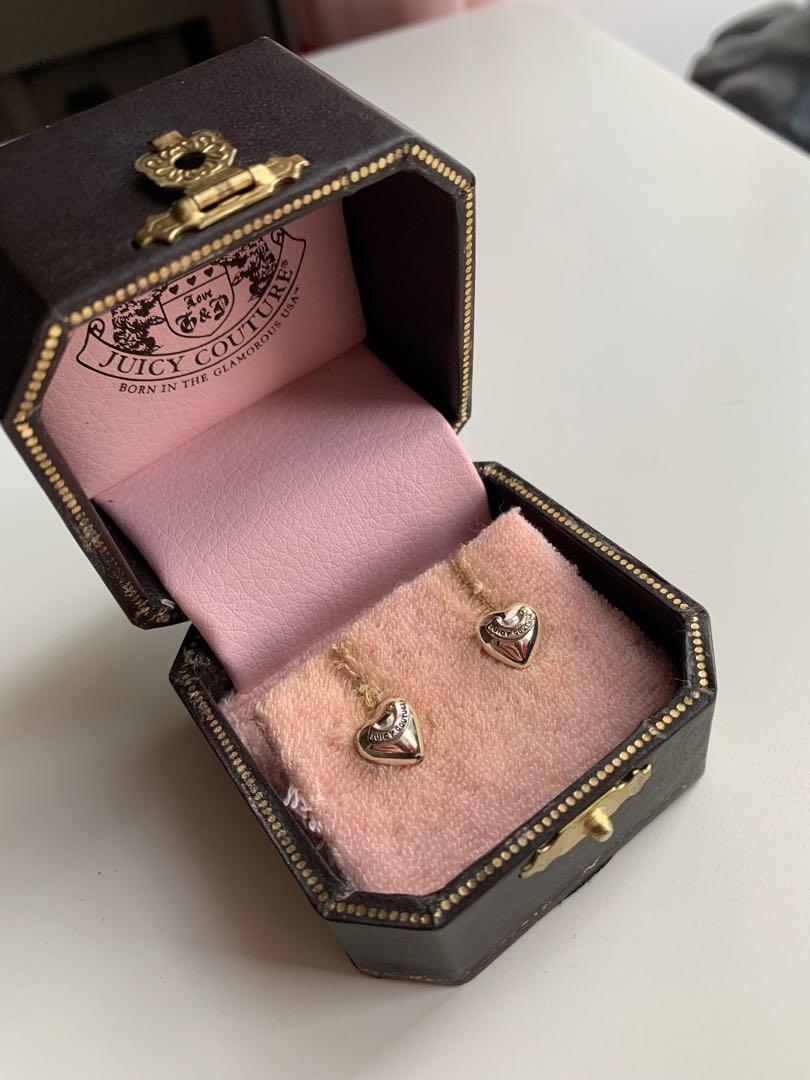 Juicy Couture Heart Earrings