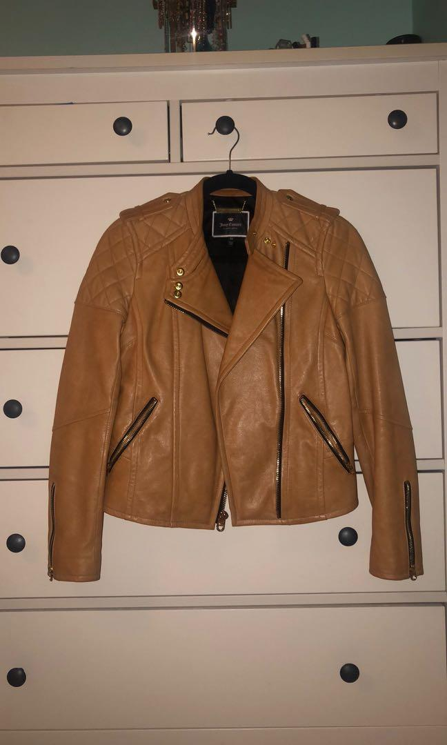Juicy Couture XS leather jacket