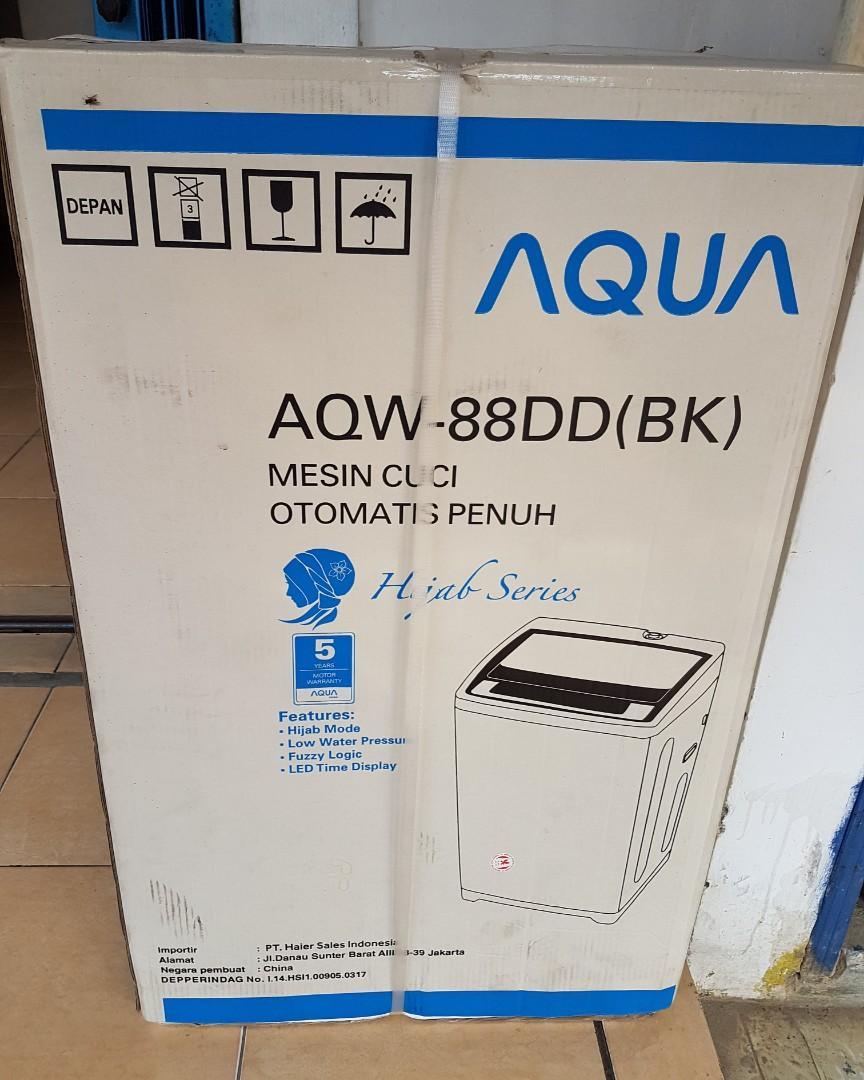 Kredit Mesin cuci 8kg DP ringan gratis admin