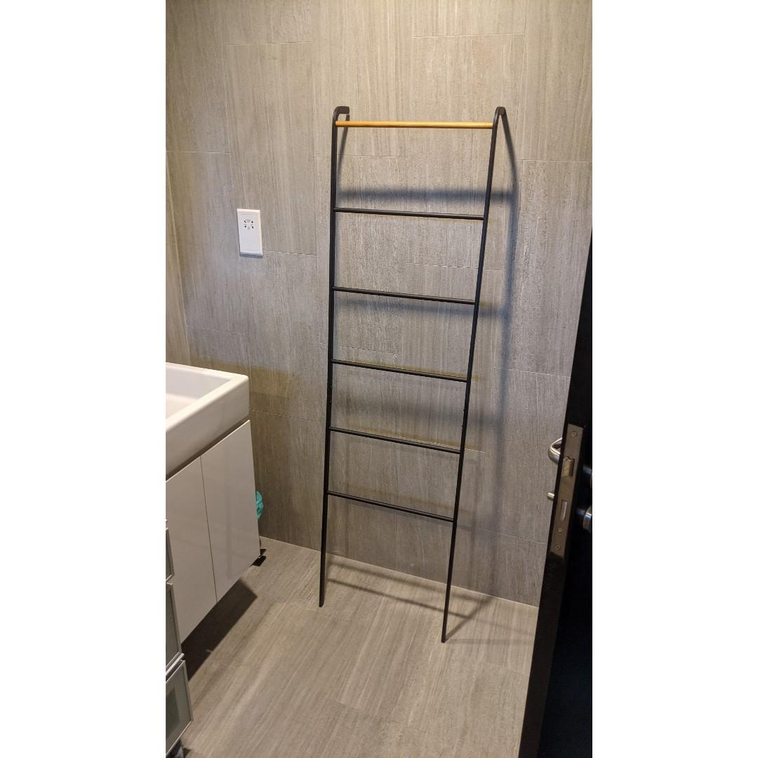 Ladder Towel Rack Metal And Wood Furniture Home Decor Others On Carousell