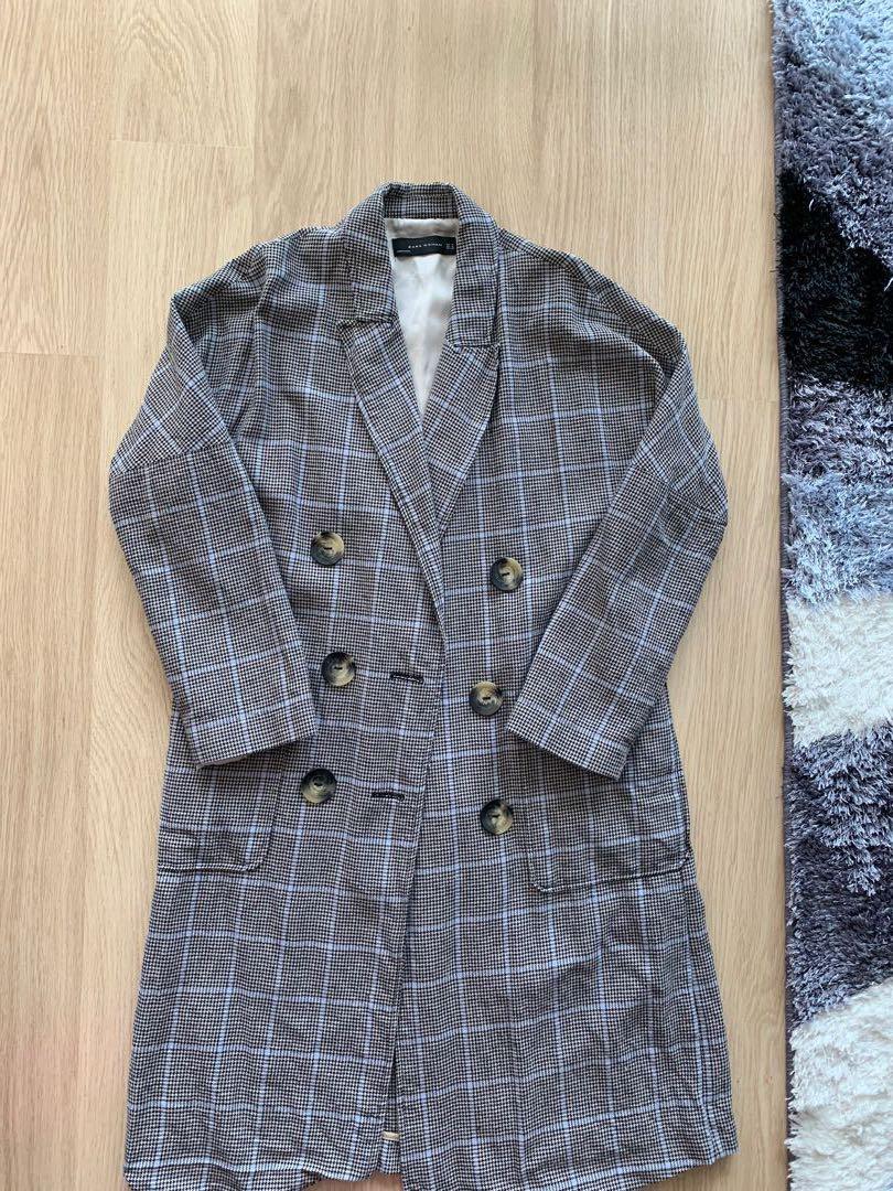 Long Zara coat (Like New)