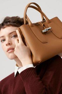 Longchamp ROSEAU 手提包 M 愛的迫降孫藝珍同款