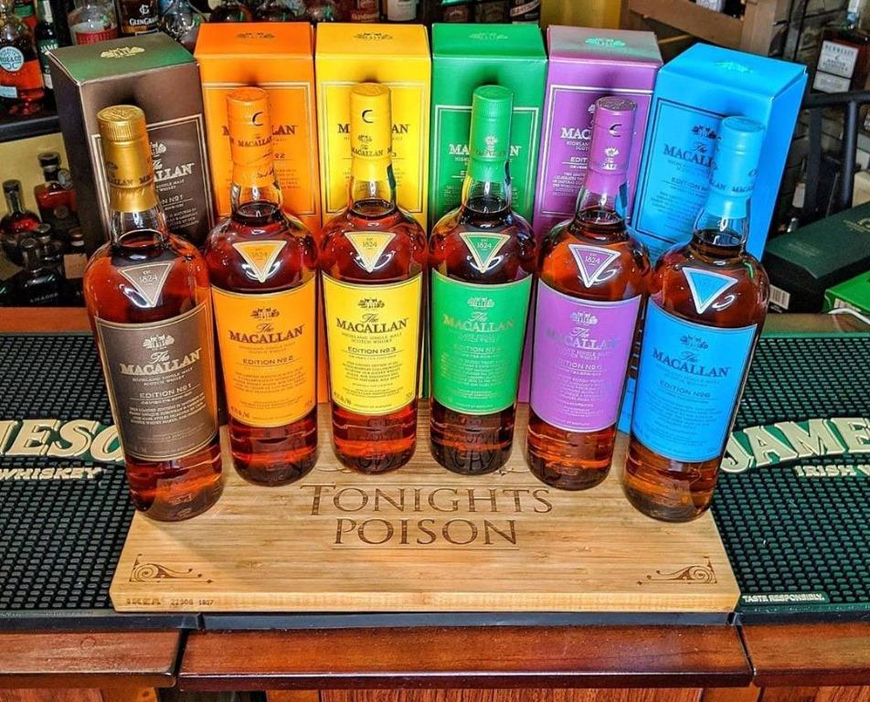 Macallan Edition Number 1-6