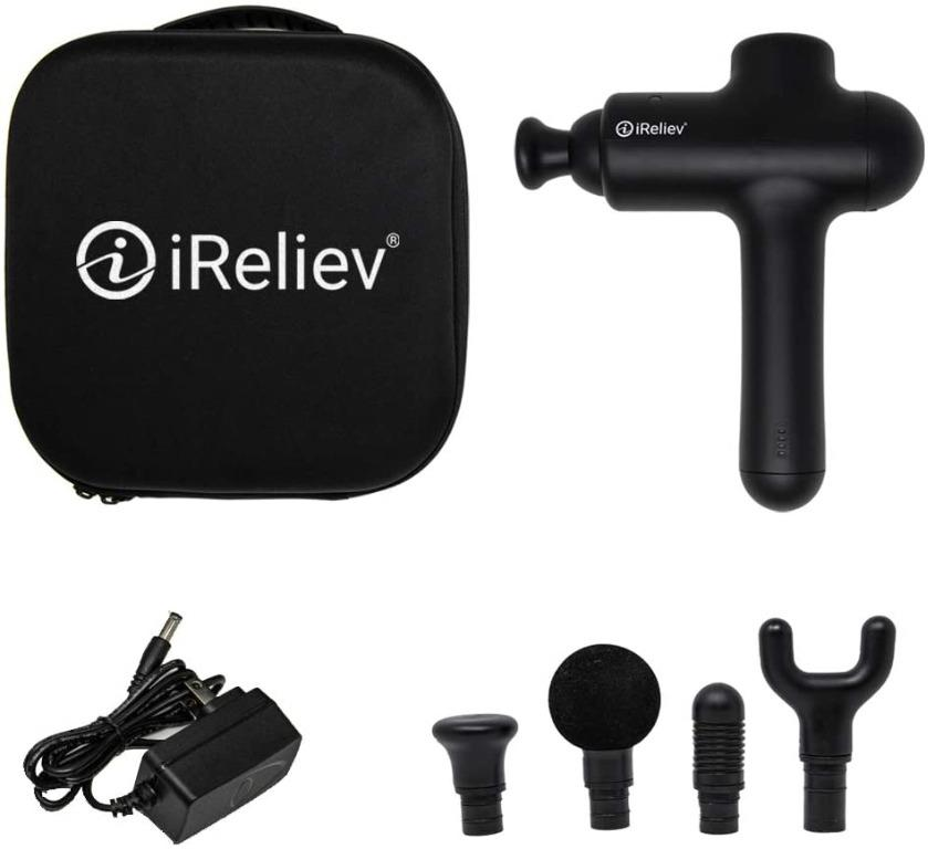 Massage Gun Percussion by iReliev for Deep Tissue